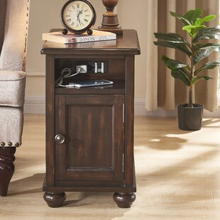 Ryder End Table with Storage by Canora Grey