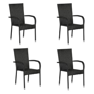 Martucci Stacking Garden Chair (Set Of 4) By Sol 72 Outdoor