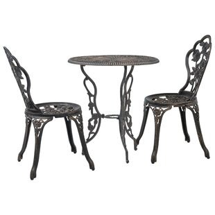 Naomi 2 Seater Bistro Set By Marlow Home Co.