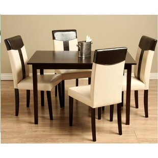 Cyrus Solid Wood Dining Table Latitude Run