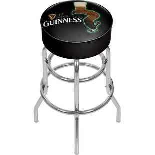 Guinness Feathering 31 Swivel Bar Stool
