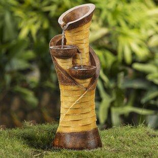 Jeco Inc. Resin/Fiberglass Turmpet Shape Water Fountain