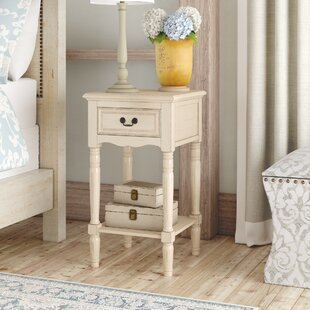 Yvelines 1 Drawer Nightstand by Lark Manor