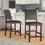 Wilfredo 24 Bar Stool (Set of 2) by Charlton Home®