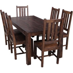 Frierson Dining Set With 6 Chairs By Union Rustic