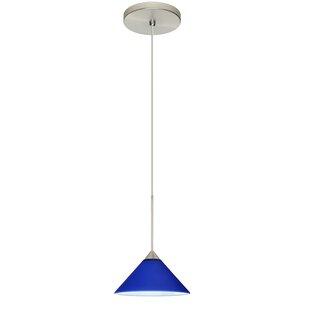 Besa Lighting Kona 1-Light Cone Pendant