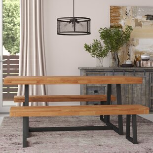 Giraldo 3 Piece Picnic Dining Set Williston Forge