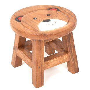 Boy Teddy Children's Stool By Just Kids