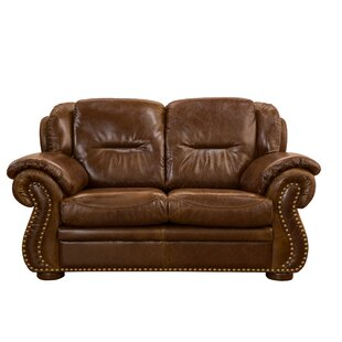 Wyatt Leather Loveseat by Fornirama