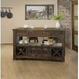 Hinkle Kitchen Island by Gracie Oaks