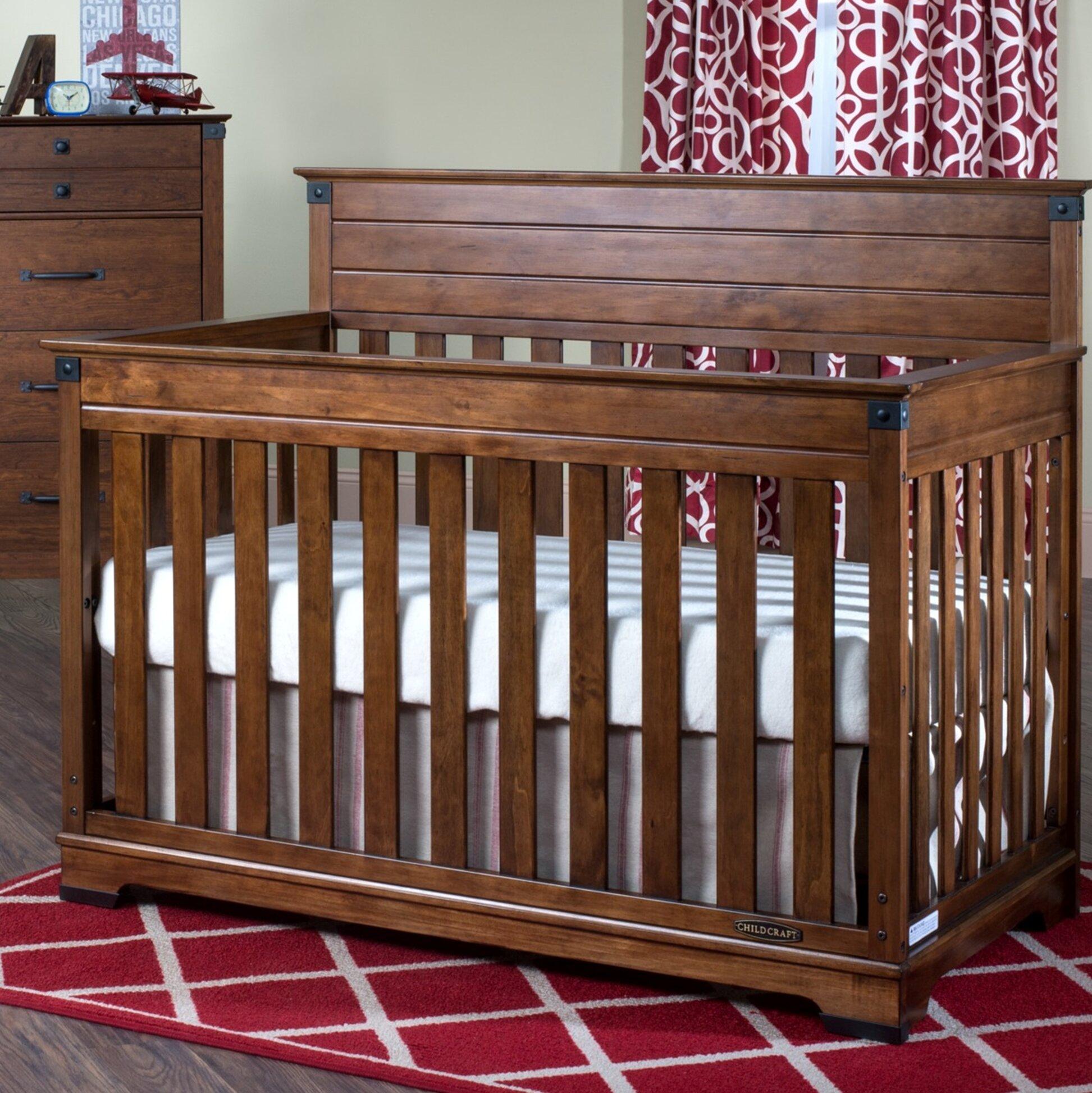 Child Craft Redmond 4 In 1 Convertible Crib Reviews Wayfair