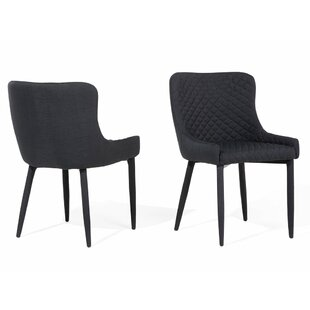 Compare & Buy Frick Upholstered Dining Chair (Set of 2) by Wrought Studio Reviews (2019) & Buyer's Guide