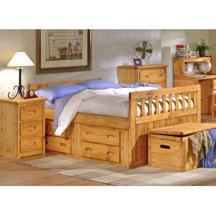 Budget Eldon Full Mate's and Captain's Bed with Storage by Harriet Bee Reviews (2019) & Buyer's Guide