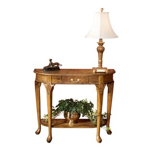 Best Downey Oak Console Table By Astoria Grand