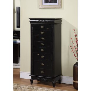Wildon Home � Moser Jewelry Armoire with Mirror