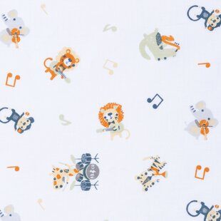 Reviews Tuck Rock Band Animals Fitted Crib Sheet By Harriet Bee