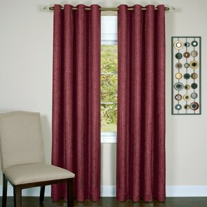 Taylor Solid Blackout Thermal Grommet Single Curtain Panel