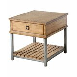 Meagan End Table with Storage by Gracie Oaks