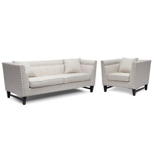 Find a Wadley 2 Piece Living Room Set by Three Posts Reviews (2019) & Buyer's Guide