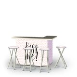 Adna Valentines Kiss Me 5-Piece Bar Set