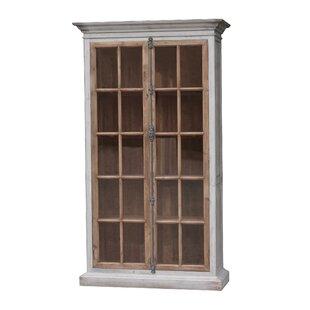 Sueann Vitrine Standard Bookcase by Gracie Oaks