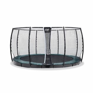 Supreme 13' Backyard In-Ground With Safety Enclosure By Exit Toys