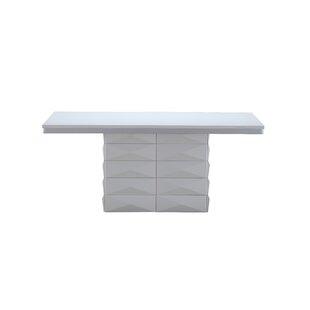 Orren Ellis Wellbrock Pedestal Base Dining Table