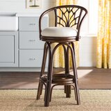 Jamison Swivel Bar & Counter Stool by Beachcrest Home