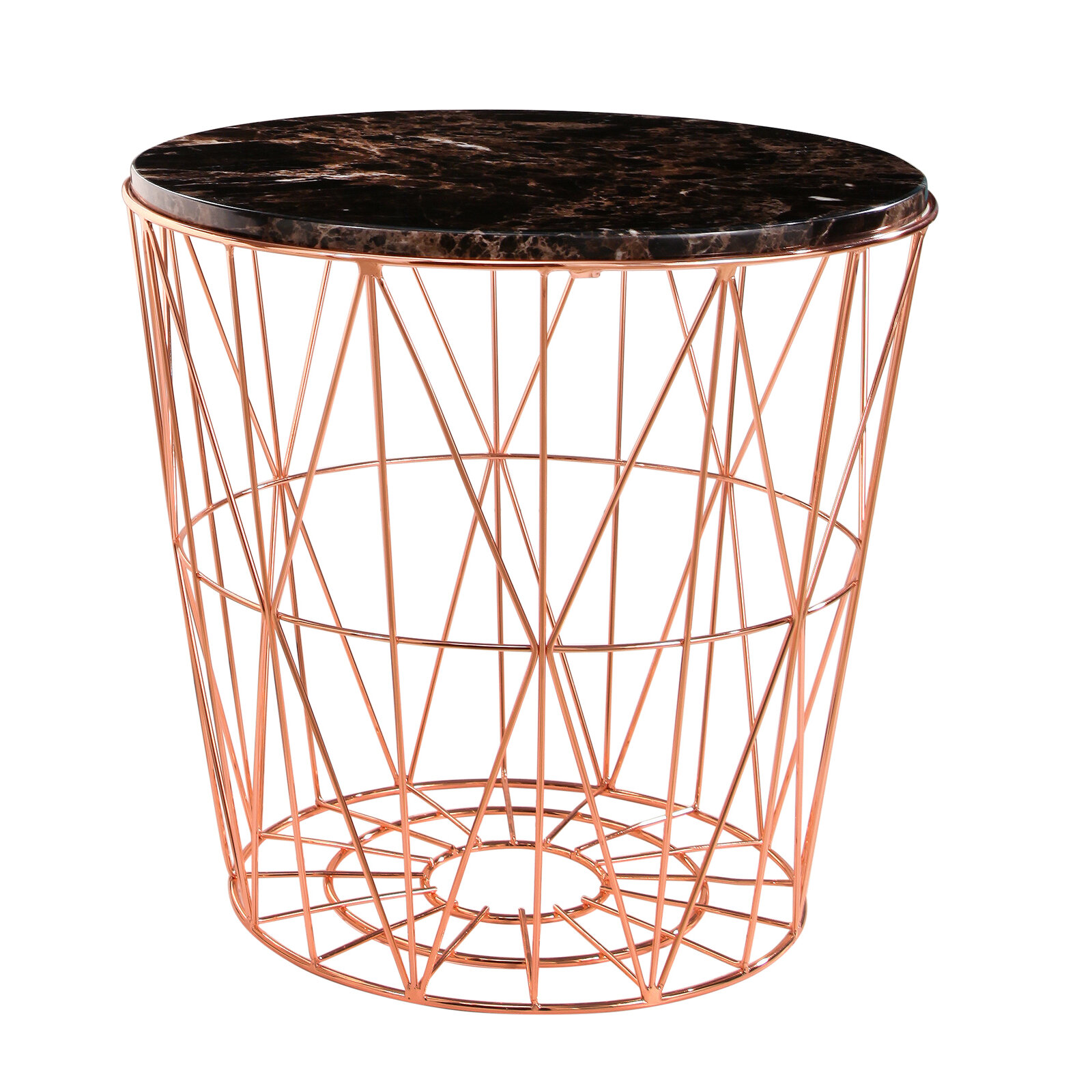 browning furniture. Ivy Bronx Browning Geometric Marble Stainless Steel End Table | Wayfair.ca Furniture B
