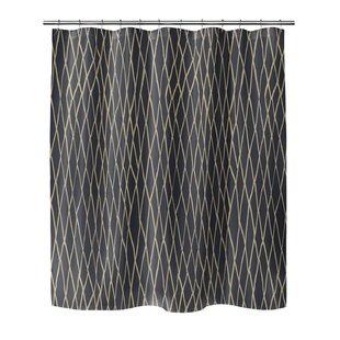 Opheim Chain Link Single Shower Curtain