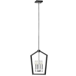 Mercer41 Casitas 4-Light Lantern Chandelier