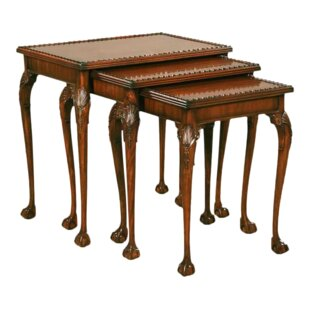 3 Piece Nesting Tables by Pasargad NY