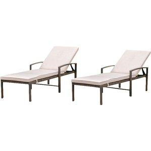 Chester Patio Chaise Lounge (Set Of 2)