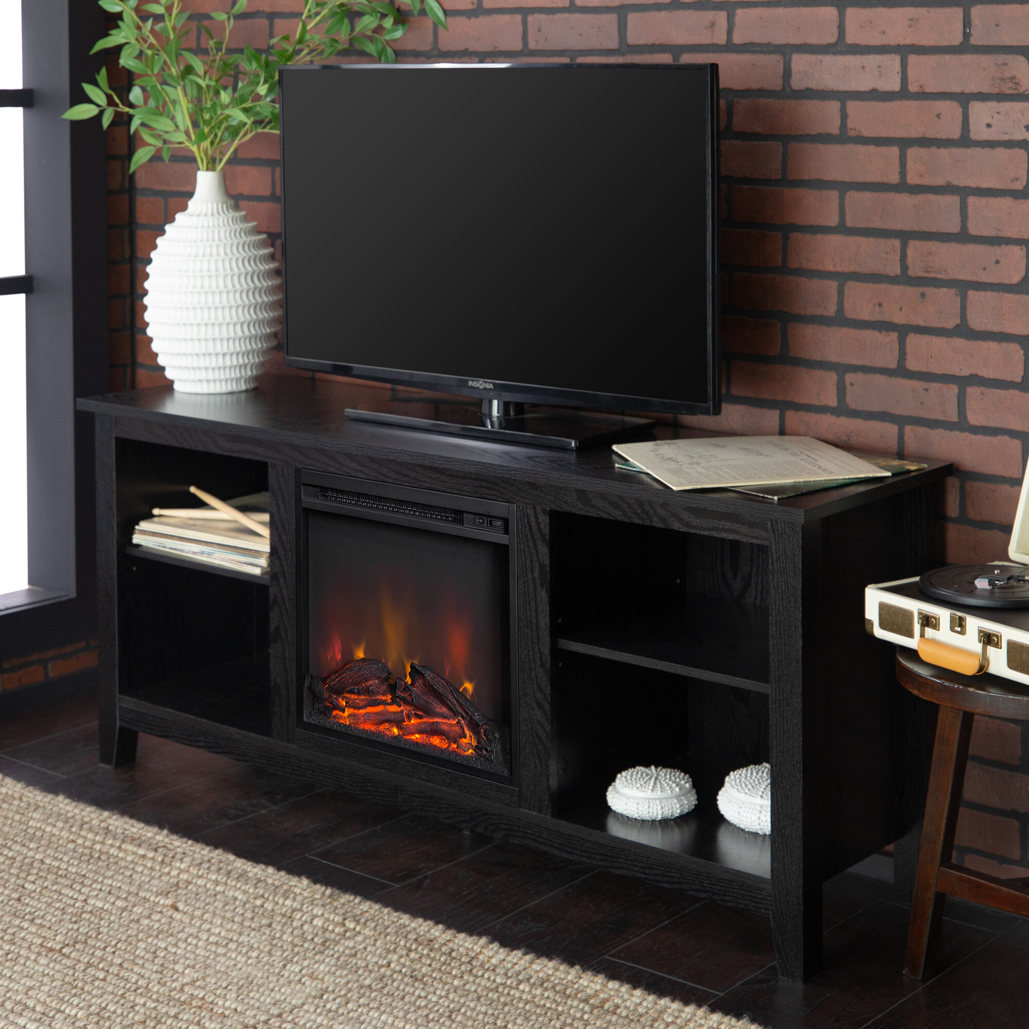 Sunbury Tv Stand For Tvs Up To 60 With Electric Fireplace