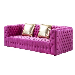 Vicenza Chesterfield Sofa by Pasargad