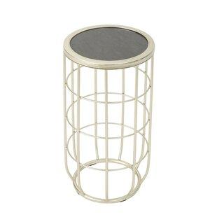 Ebern Designs Duclos Iron Side Table