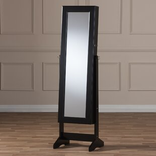 Persei Wood Jewelry Armoire with Mirror