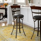 Sprecher 26 Swivel Bar Stool by Alcott Hill®