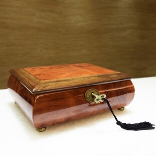 Compare & Buy Premium Wooden Musical Jewelry Box ByIkee Design