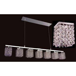 Classic Lighting Bedazzle 7-Light Kitchen Island Pendant