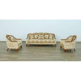 Europeanfurniture Angelica Configurable Living Room Set Wayfair