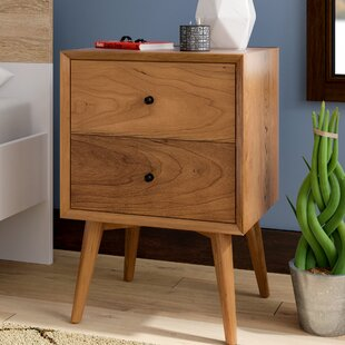 Miraculous Langley Street Parocela 2 Drawer Nightstand Inzonedesignstudio Interior Chair Design Inzonedesignstudiocom