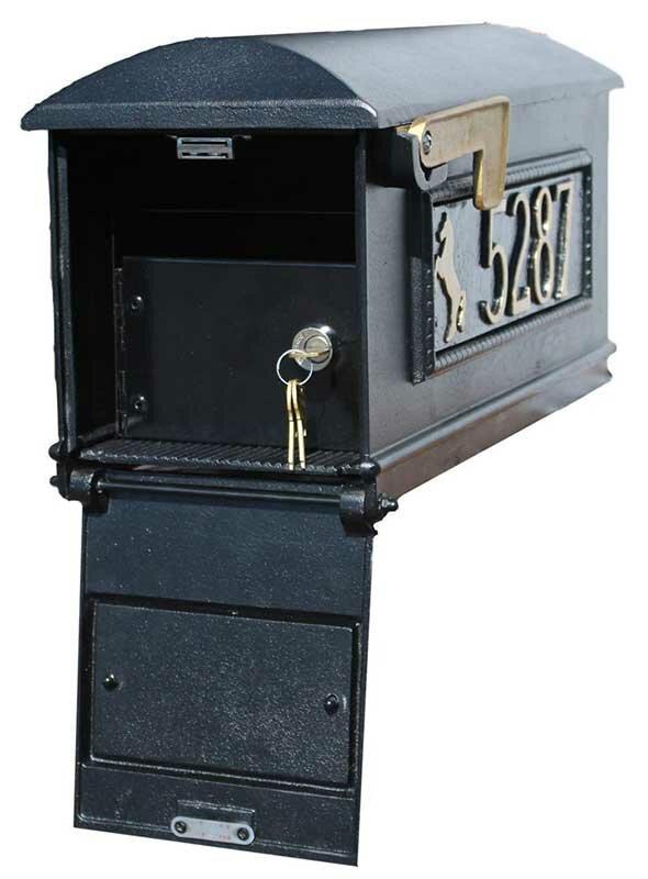 Qualarc Lewiston Mailbox Locking Insert Security Kit Wayfair