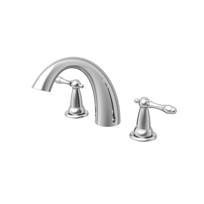 Estora Varese Double Handle Deck Mount Roman Tub Faucet Trim Wayfair