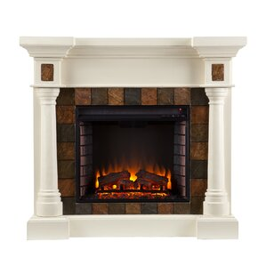 Clatterbuck Electric Fireplace by Fleur De L..