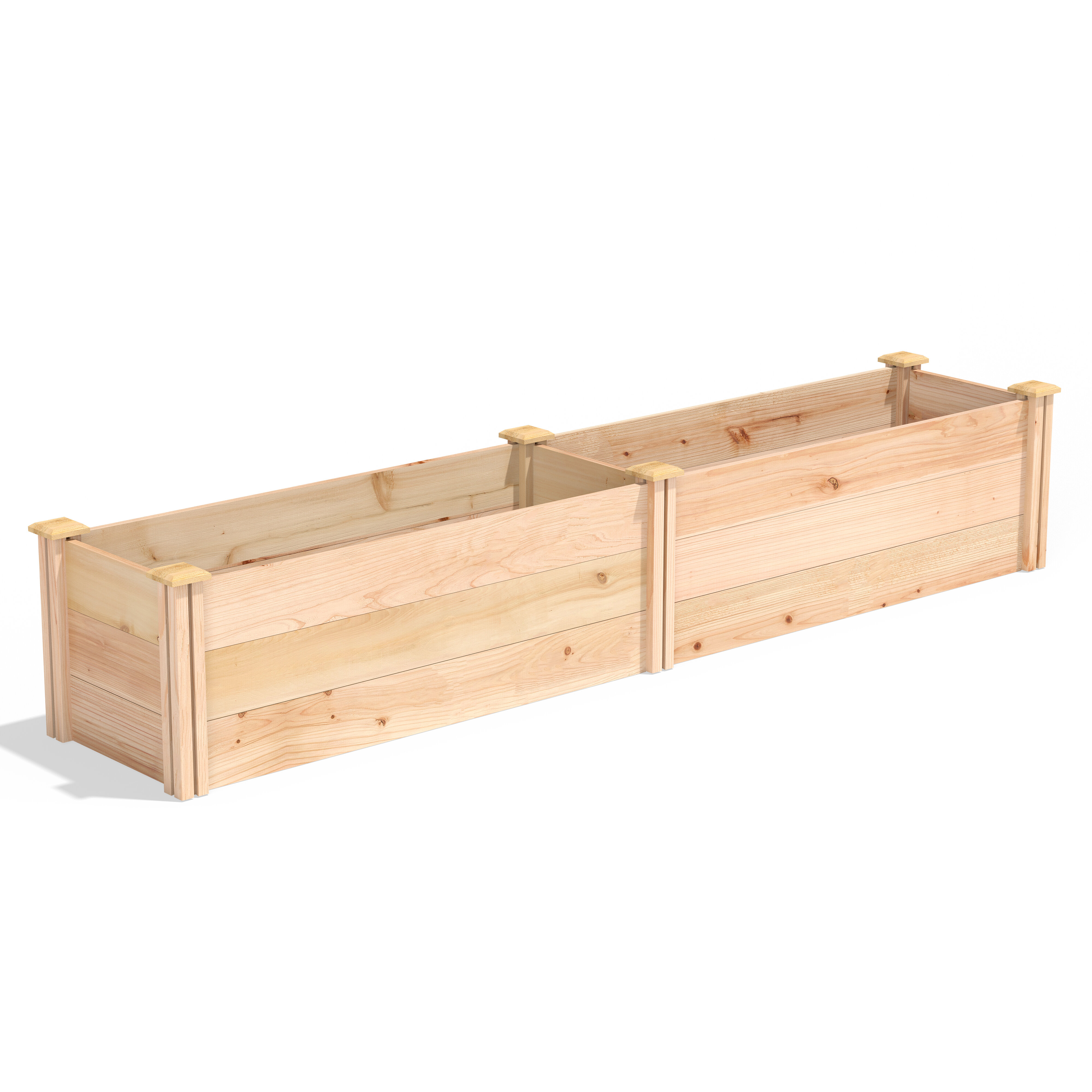 Image of: Large Wood Planters You Ll Love In 2020 Wayfair