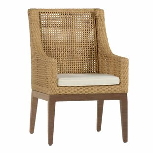 Peninsula Patio Dining Chair With Cushion by Summer Classics Discount