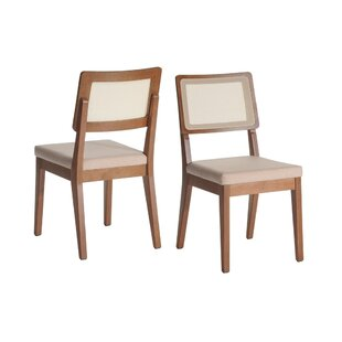 Union Rustic Tatom Upholstered Dining Chair (Set of 2)