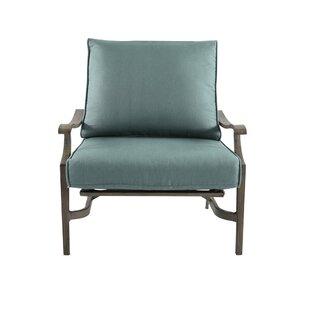Coffey Rocking Chair with Cushions by Fleur De Lis Living