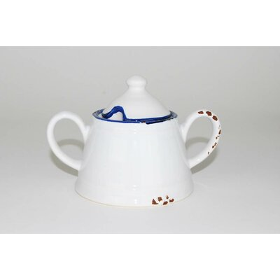 100 Essentials Enamel Sugar Bowl with Lid